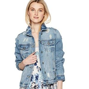 Ellison Distressed Jean Jacket